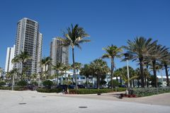 Luxury condominiums at Singer Island, Florida Royalty Free Stock Photo
