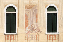 Riviera del Brenta,  Historic villa Stock Images