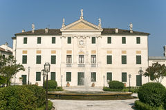 Riviera del Brenta (Veneto) - Historic villa Stock Photography
