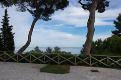 Riviera del Conero. Ancona - Marche Region Italy Stock Photography
