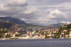 Riviera francesa Imagen de archivo libre de regalías