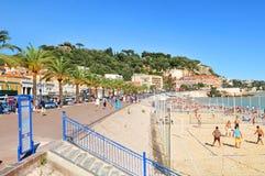 Riviera francesa imagen de archivo