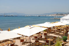 Riviera francesa Imágenes de archivo libres de regalías
