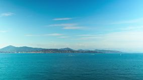 Riviera francese, al rallentatore stock footage