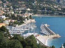 Riviera francese - posti famosi Fotografie Stock Libere da Diritti