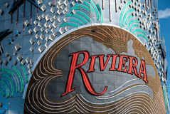 Riviera Hotel Las Vegas Sign Royalty Free Stock Image