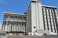 Riviera hotell- och kasinotecken Arkivbilder