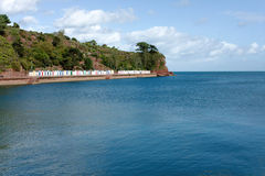 Riviera inglesa Imagenes de archivo