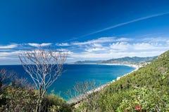 Riviera italiana Imagen de archivo