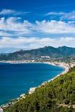 Riviera italiana Imagen de archivo libre de regalías