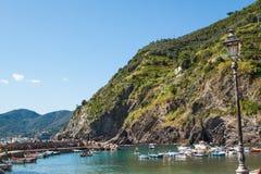 Riviera italiano Immagine Stock Libera da Diritti
