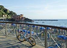Riviera  of  Levanto, La Spezia Stock Image