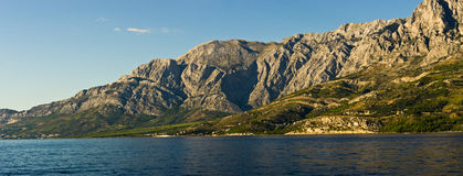 Riviera Makarska in Croatia Stock Photos