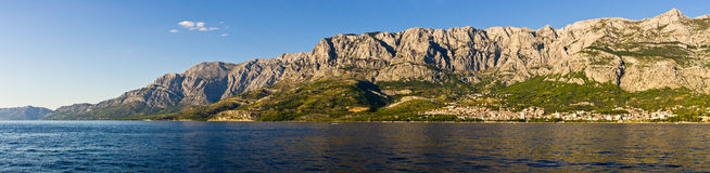 Riviera Makarska in Croatia Royalty Free Stock Photography