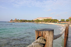 Riviera Maya. Image taken at Puerto Aventuras (Riviera Maya Cancun) Mexico Royalty Free Stock Photography