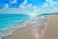Riviera Maya Caribbean beach turquoise Mexico. Riviera Maya Caribbean beach turquoise in Mayan Mexico stock photo