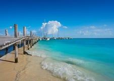 Riviera Maya Maroma Caribbean beach Mexico Stock Image