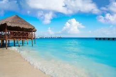 Riviera Maya Maroma Caribbean beach Mexico Stock Photos