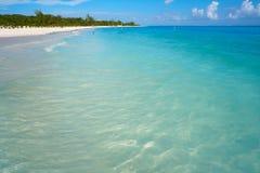 Riviera Maya Maroma Caribbean beach Mexico Stock Images