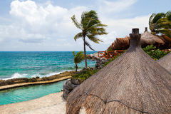 Riviera Maya View, Mexico Stock Photo