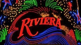 Riviera Neon Casino Signs in Las Vegas