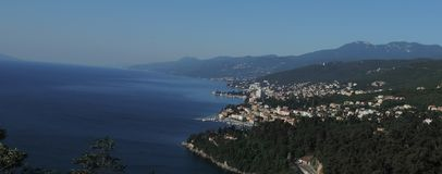 Riviera Opatija Royalty Free Stock Image
