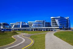 Riviera Plaza Business Center, Minsk, Belarus Royalty Free Stock Image