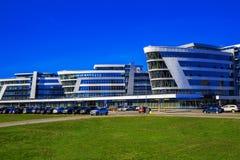 Riviera Plaza Business Center, Minsk, Belarus Royalty Free Stock Photography