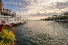 Riviera svizzero Immagini Stock