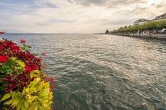 Riviera svizzero Immagine Stock Libera da Diritti