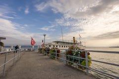 Riviera svizzero Fotografia Stock