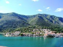 Riviera van Kroatië stock foto's
