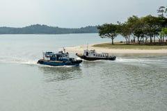 Rivierboot stock foto