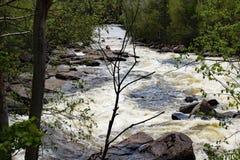 Riviere du nord, Ste Adele Στοκ εικόνα με δικαίωμα ελεύθερης χρήσης