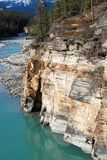 Rivieren in Rockies royalty-vrije stock afbeeldingen