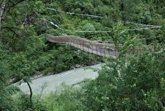 Rivieren in Tibet Stock Afbeeldingen