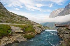 Rivieren van Noorwegen Royalty-vrije Stock Foto