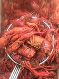 Rivierkreeften de Zuid- van Louisiane Fijne Cajun-Keuken Royalty-vrije Stock Foto's
