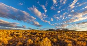 Riviersleep in Smith Rocks State Park, een populair bergbeklimmingsgebied in centraal Oregon dichtbij Terrebonne royalty-vrije stock foto