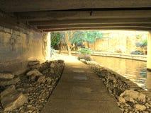 Rivierweg Stock Afbeeldingen
