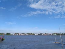 Rivière de Choapraya Photos libres de droits