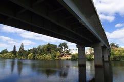 Rivière de Derwent, Tasmanie Photographie stock libre de droits