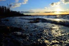 Rivière de Dniepr Photo stock