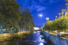 Rivière de Mures Image libre de droits