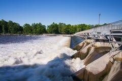 Rivière des Mille-Îles Stock Photo