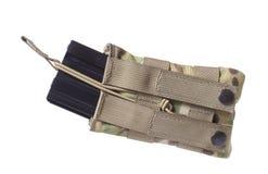 Rivista AR-15 e sacchetto Fotografia Stock Libera da Diritti