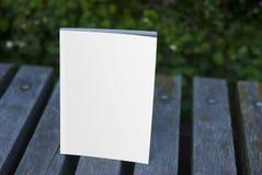 Rivista del modello e catalogo, copertura per la vostra progettazione Immagine Stock