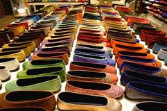 Rivista delle scarpe di balletto Immagini Stock Libere da Diritti