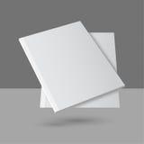 Rivista vuota in bianco librantesi Fotografie Stock Libere da Diritti