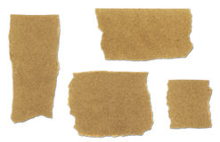 rivit sönder påsesamlingspapper Arkivbild